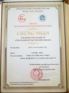 Giay chung nhan SPCN