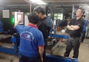 Hypertherm Technical at Son Vu Factory 2